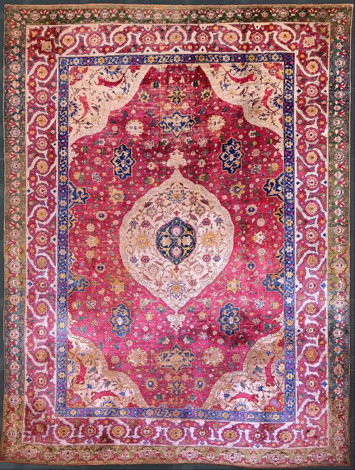 800px-Unknown,_Iran,_mid-16th_Century_-_The_Rothschild_Small_Silk_Medallion_Carpet_-_Google_Art_Project