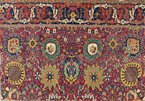 Kerman_'vase'_carpet_fragment,_southeast_Persia,_early_17th_century