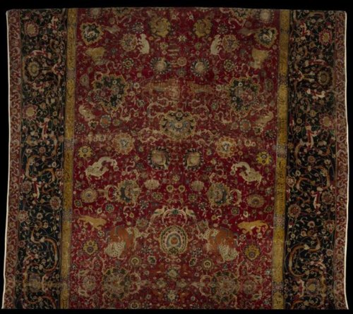 The_Emperor's_Carpet_(detail),_second_half_of_16th_century,_Iran._Silk_(warp_and_weft),_wool_(pile);_asymmetrically_knotted_pile,_759.5_x339_cm.The_Metropolitan_Museum_of_Art,